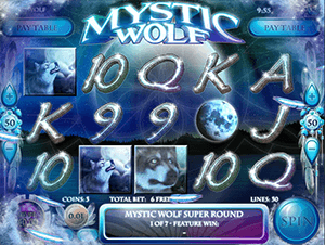 Mystic Wolf Slot Gameplay
